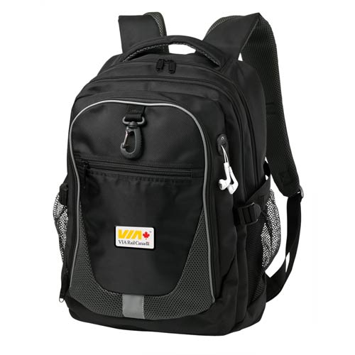Black Domain Computer Backpack