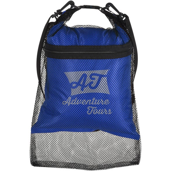 Blue Double Duty Mesh & Dry Bag