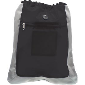 Advertising Double Square Drawstring Bag