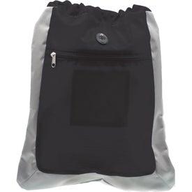 Advertising Double Square Drawstring Bag