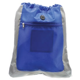 Double Square Drawstring Bag for Promotion