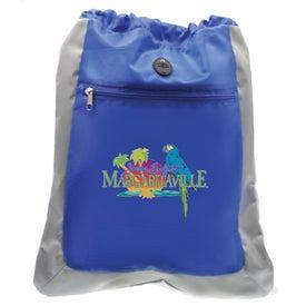 Custom Double Square Drawstring Bag