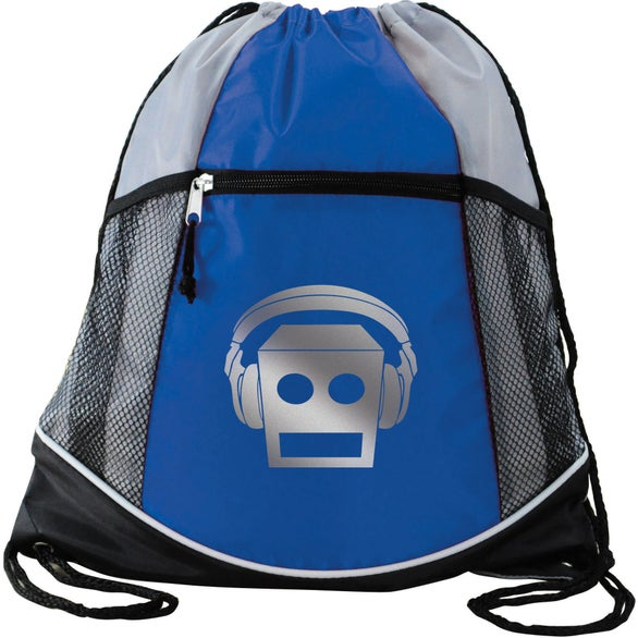 Royal Double Take Drawstring Backpack