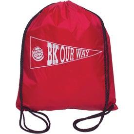 Drawstring Backsack with Your Slogan