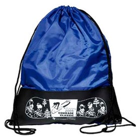 Customizable Polyester Drawstring Backpack for Your Church