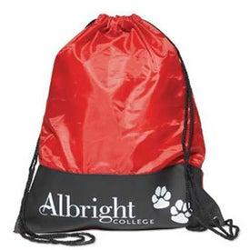 Printed Polyester Sling Backpack