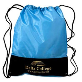 Custom Customizable Polyester Drawstring Backpack