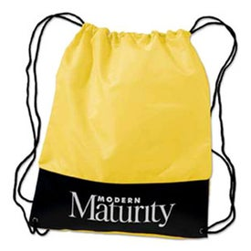 Customizable Polyester Drawstring Backpack for your School