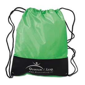 Customizable Polyester Drawstring Backpack for Your Company