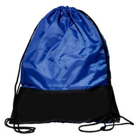 Branded Customizable Polyester Drawstring Backpack