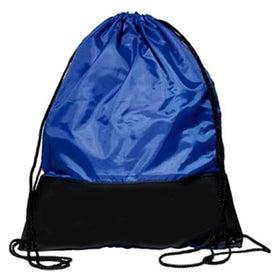 Branded Polyester Sling Backpack
