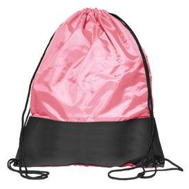 Monogrammed Polyester Sling Backpack