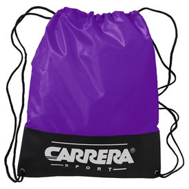 Customizable Polyester Drawstring Backpack for Marketing