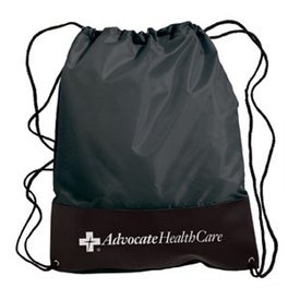 Customizable Polyester Drawstring Backpack