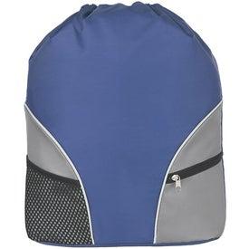 Polyester Drawstring Backpack for Marketing