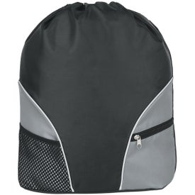 Company Polyester Drawstring Backpack