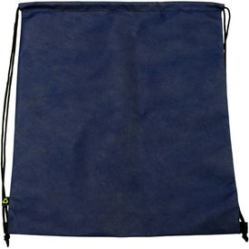 Monogrammed Customizable Drawstring Backpack