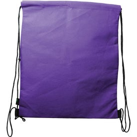 Logo Non Woven Polypropylene Drawstring Backpack