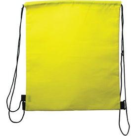 Logo Customizable Drawstring Backpack