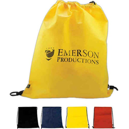 Promotional Non Woven Polypropylene Drawstring Backpack with ...
