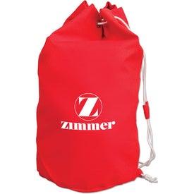 Drawstring Cotton Barrel Bag for your School