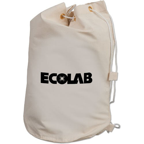 Promotional Drawstring Cotton Barrel Bags with Custom Logo for ...