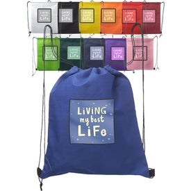"Non-Woven Drawstring Backpack (14.5"" x 17.5"")"