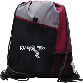 Branded Polyester Drawstring Sport Pack