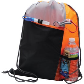 Personalized Polyester Drawstring Sport Pack