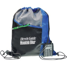 Polyester Drawstring Sport Pack Branded with Your Logo