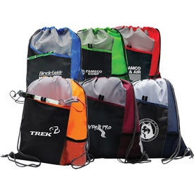 Customizable Drawstring Sport Pack for your School