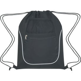 Drawstring Sports Pack With Dual Pockets for Your Organization