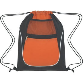 Drawstring Sports Pack With Dual Pockets for your School
