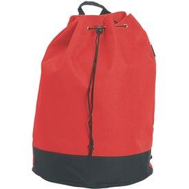 Printed Drawstring Tote / Backpack