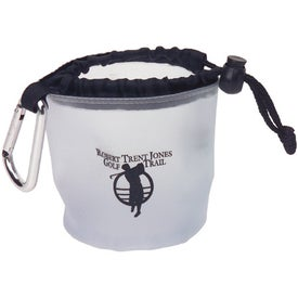Custom Drawstring Bag with Carabiner