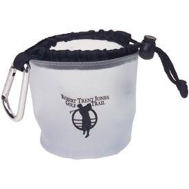 Custom Drawstring Bag with Carabiner