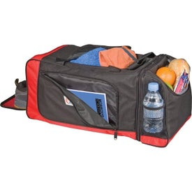 Dual Lunch/Sports Duffel Imprinted with Your Logo