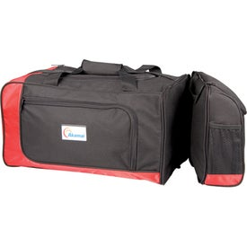 Imprinted Dual Lunch/Sports Duffel
