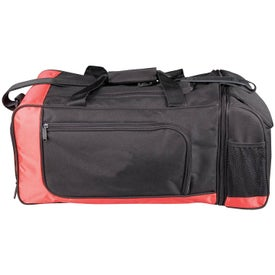 Branded Dual Lunch/Sports Duffel