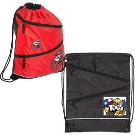 Dual-Zipper String-A-Sling Backpack