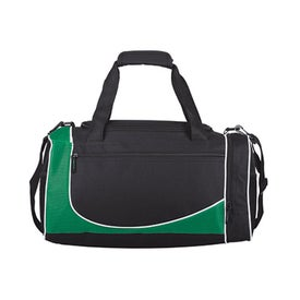 Promotional Polyester Duffel Bag with Shoulder Strap