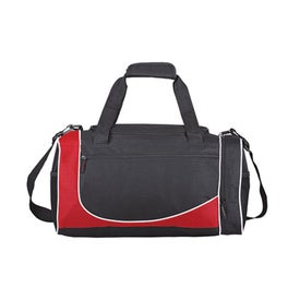 Advertising Polyester Duffel Bag with Shoulder Strap