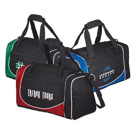 Polyester Duffel Bag with Shoulder Strap