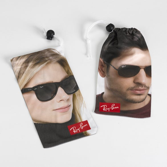 Full Color Imprint Microfiber Sunglass Pouch