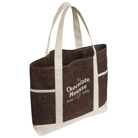 Earthlight Jute Tote Bag for Customization