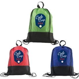 Custom Easy Hang Drawstring Backpack