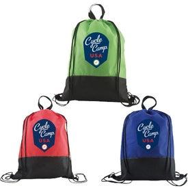 Custom Easy Hang Drawstring Backpack