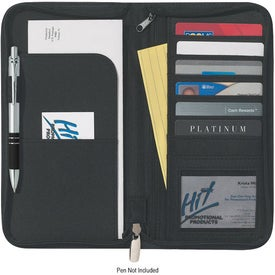 Company Eclipse Bonded Leather Travel Wallet