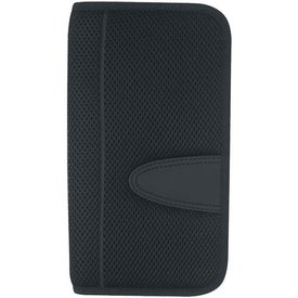Eclipse Mesh Travel Wallet with Zipper for Your Company
