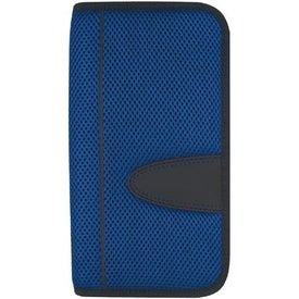 Custom Eclipse Mesh Travel Wallet with Zipper